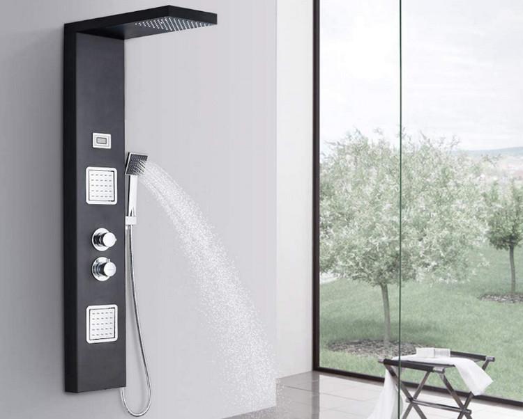 Comparatif meilleure colonne de douche hydromassante