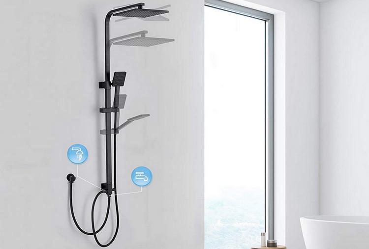 Critères de choix colonne de douche